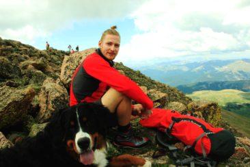 einen neuen Freund auf 4300m gefunden