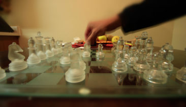 chess with jesus