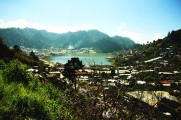 Hochland Dorf auf 2700m