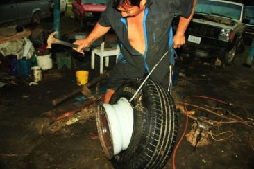 tire made in belize