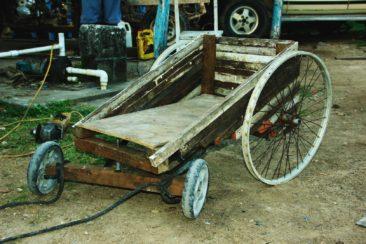 Seifenwagen made from Aleman